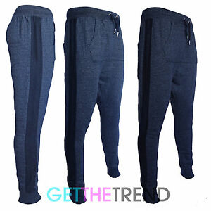 Mens-Designer-Skinny-Slim-Tight-Fit-Joggers-Bottoms-Pants-Trousers-Casual-S-XL