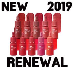 PERIPERA-NEW-INK-THE-VELVET-AD-4g-10-Colors-2019-Renewal
