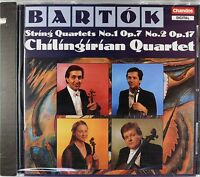 Bela Bartok - String Quartets Nos. 1 & 2, Chilingirian Quartet, Cd