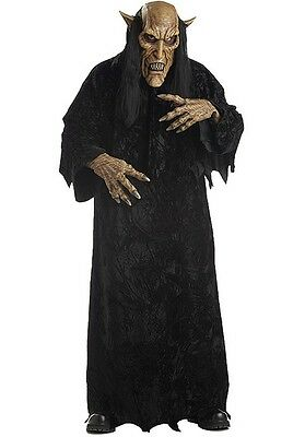 Mens Scary Evil Halloween Costume Death Adult Mask Horror Demon Creature Creepy