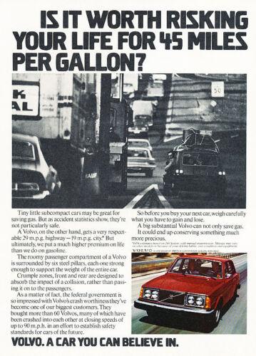 1978 Volvo 240 Sedan Vintage Advertisement P52