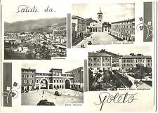 SALUTI DA SPOLETO - VEDUTINE + TARGHETTA FESTIVAL DEI DUE MONDI (PERUGIA) 1959