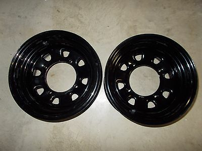 4 Rims Steel Wheels Front Rear Yamaha  Grizzly 660