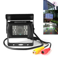 Us Waterproof Ir Night Vision Hd 420tvl Bus Truck Car Rear View Camera 10m Cable