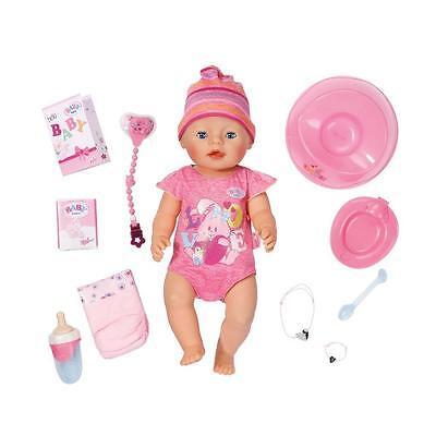 Zapf Creation 822005 - Baby Born Interactive interaktive Puppe mit Zubehör NEU