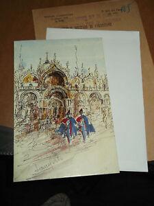 Biglietto Auguri Carabinieri In Piazza San Marco Venezia Laura Certo