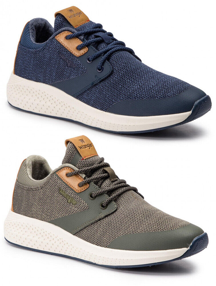 Wrangler Sequoia City Men's shoes Sneakers Leather Suede Fabric Memory Foam