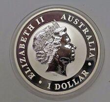 {BJSTAMPS} 2011 AUSTRALIA $1 Kookaburra Proof Like BU .999 fine silver 1 ozt.