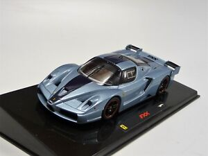 Ferrari-Fxx-Azul-Metalico-Hot-Wheels-Elite-N5611-Nuevo-en-Emb-Orig-1-43