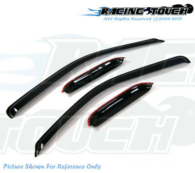 Out Channel Visor Wind Deflector Light Tint For Chevrolet Monte Carlo 00-06 2pcs