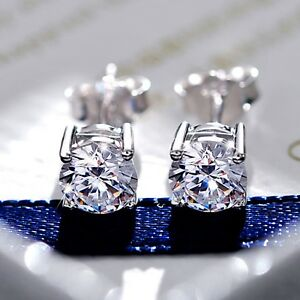 18ct-white-gold-GF-made-with-swarovski-crystal-ladies-stud-earrings-SOLITAIRE