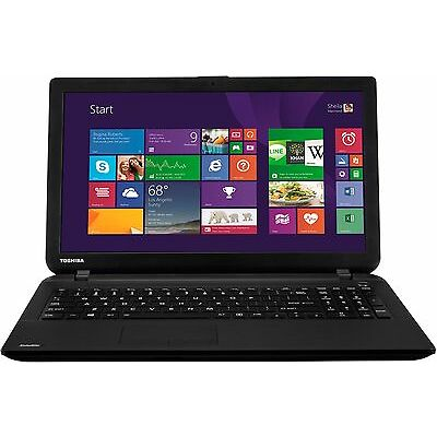 Toshiba Satellite 15.6 Inch 2.16GHz Dual Core 4GB 1TB Windows 8.1 Laptop Black.
