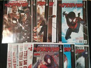 Miles-Morales-Ultimate-Comics-Spider-man-Lot-of-12