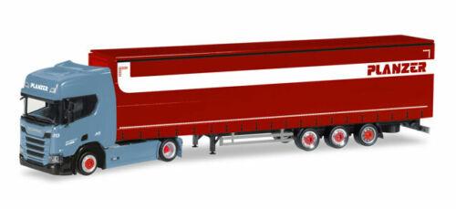 CH Herpa 308151  Scania CR 20 HD Lowliner GardPlSZ Planzer H0 NEU//OVP
