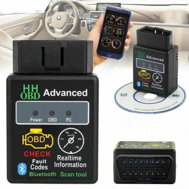 ELM327 Mini Bluetooth OBD2 Torque Scanning Light Vehicle System Features ELM327 OBD2 Scan Tool EOBDII Read Adapter Supports all OBD-II Protocols