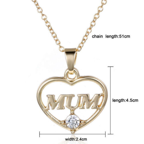 New Family Fashion Charm Pendant Necklace Heart Pet Dog Paw Jewelry Mom Daughter