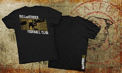 Bullterrier Miniatur Bull Terrier T-shirt Oldschool Football Club S-5xl Sw