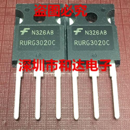 5 x RURG3020C 30A 200V Ultrafast Dual Diode TO-247