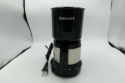 Cuisinart DCC-450BK 4-Cup Coffeemaker 885225035347 | eBay