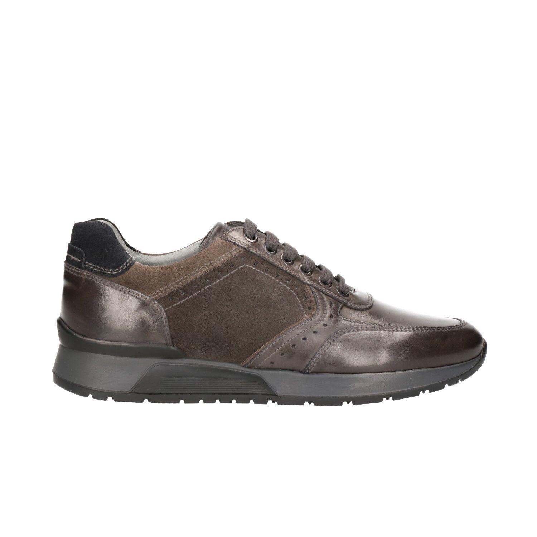 NERO antracite GIARDINI Sneakers scarpe uomo antracite NERO 0469 mod. A800469U 080208