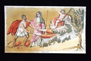 Fiume-Scamandro-Frigia-Incisione-colorata-a-mano-del-1820-Mitologia-Pozzoli