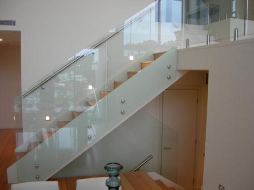 custom cut to size Balustrades Juliet Balconies Bespoke 10mm toughened glass