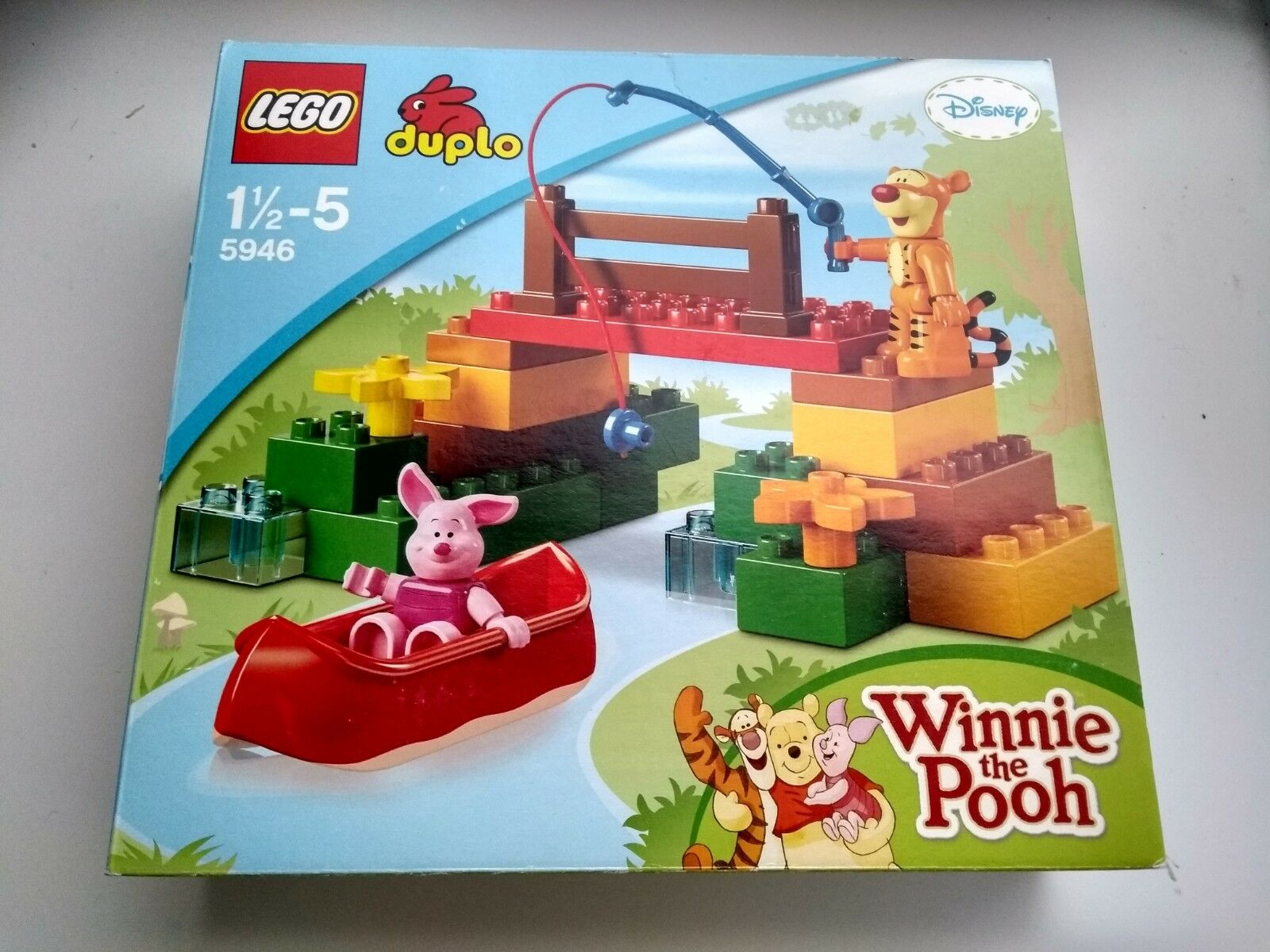 LEGO DUPLO Winnie the Pooh 5946 Tiggers Expedition