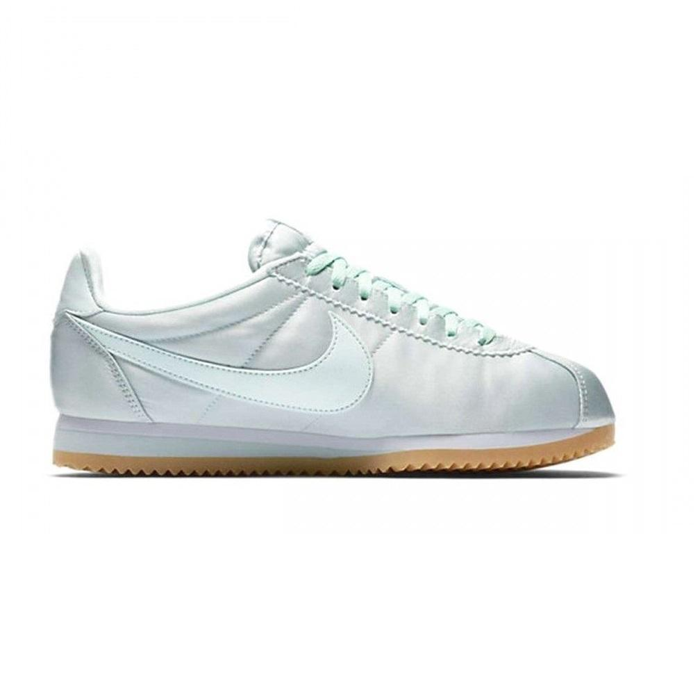 Womens NIKE CLASSIC CORTEZ QS Satin Trainers 920440 300