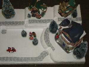 Christmas-Village-Display-Platform-J4-For-Lemax-Dept-56-Dickens-North-Pole-More