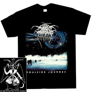 Darkthrone-Soulside-Journey-Shirt-S-XXL-Black-Metal-Band-T-Shirt-Dark-Throne