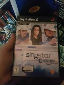 Singstar-Country-Sony-Playstation-2-Ps2-Complete