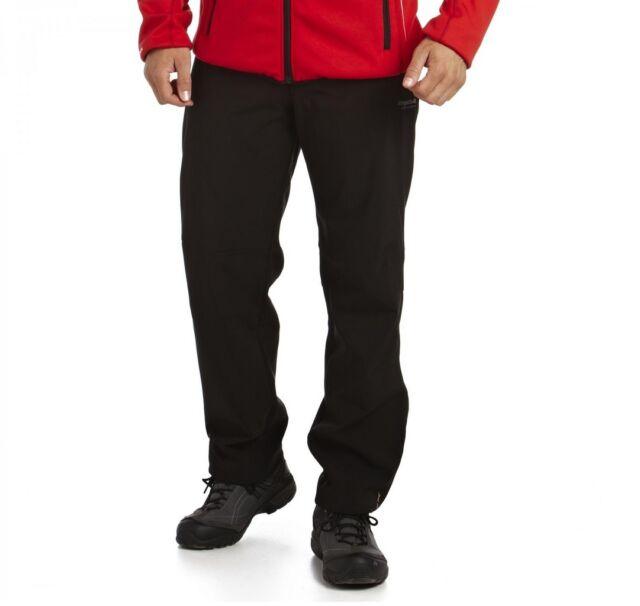 Men/'s Geo II Softshell Trousers Black
