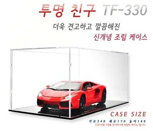 [sale] ASSEMBLING ACRYLIC DISPLAY CASE Diecast vehicles cars 1:18 size