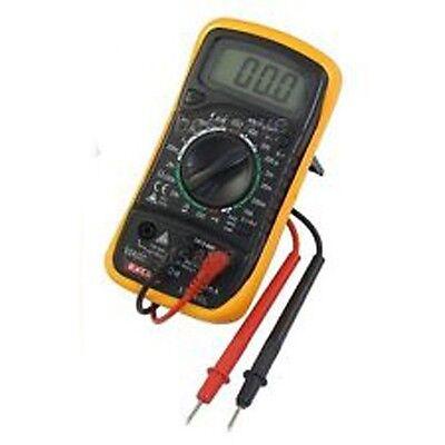 Large Digital Multimeter hand held electrical tester big volts amps voltage