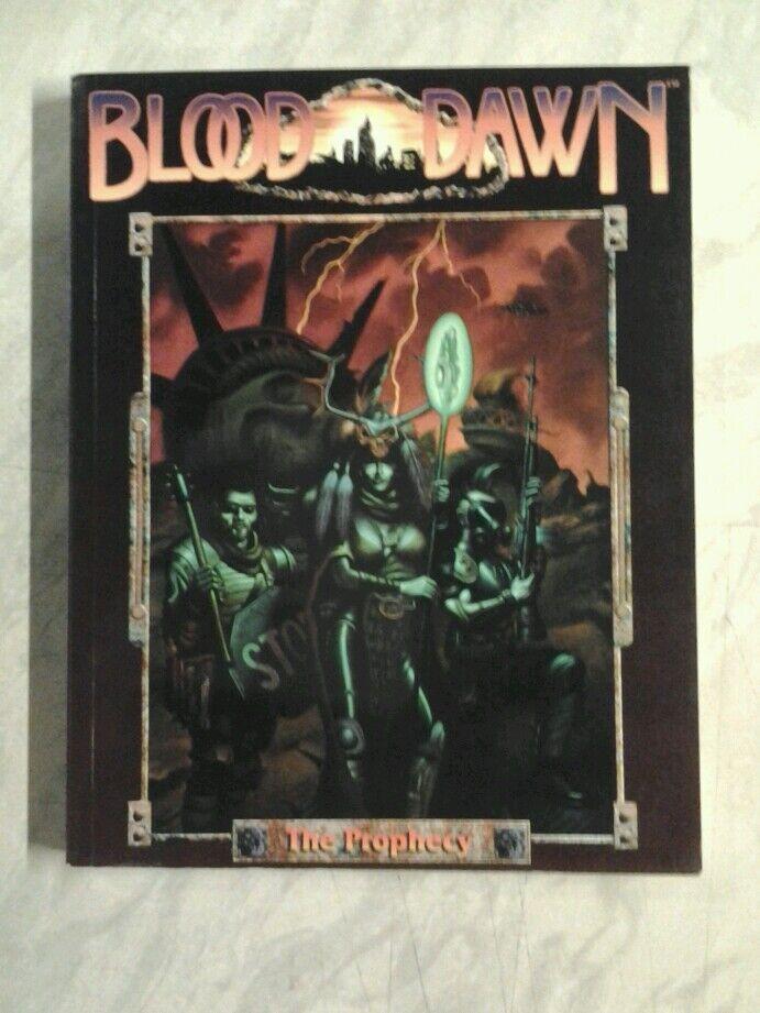 BLOOD DAWN - CORE RULEBOOK RPG OOP POST APOCALYPSE SSDC