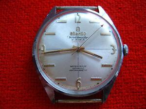 Image is loading RARE-Vintage-Swiss-Made-Wrist-Watch-ATLANTIC-Worldmaster- 36e8f7f883