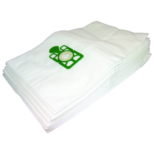 10 Large Deluxe Microfibre Vacuum Hoover Dust Bags For Numatic 3BH NV500 NV570
