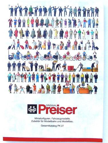 Preiser 93059 Gesamtkatalog PK 27 #NEU #