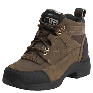 Ariat Youth Terrain Kids Boots - Distressed Brown