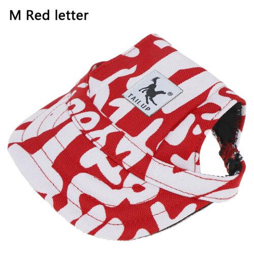 Pet Dog/'s Hat Baseball Cap Windproof Travel Sport Sun Hats for Puppy LargeHatsUM