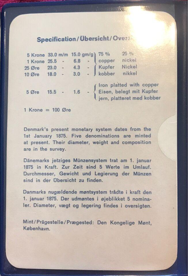 Danmark, mønter, 1978