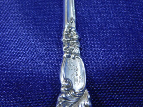 REED /& BARTON TRAJAN STERLING SILVER DEMITASSE SPOON EXCELLENT CONDITION