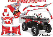 AMR Racing DECORO GRAPHIC KIT ATV POLARIS SPORTSMAN modelli T-Bomber B