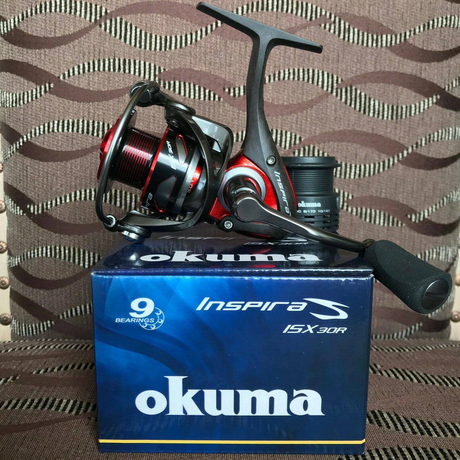 Okuma inspira isx-30r FD rojo spinnrolle