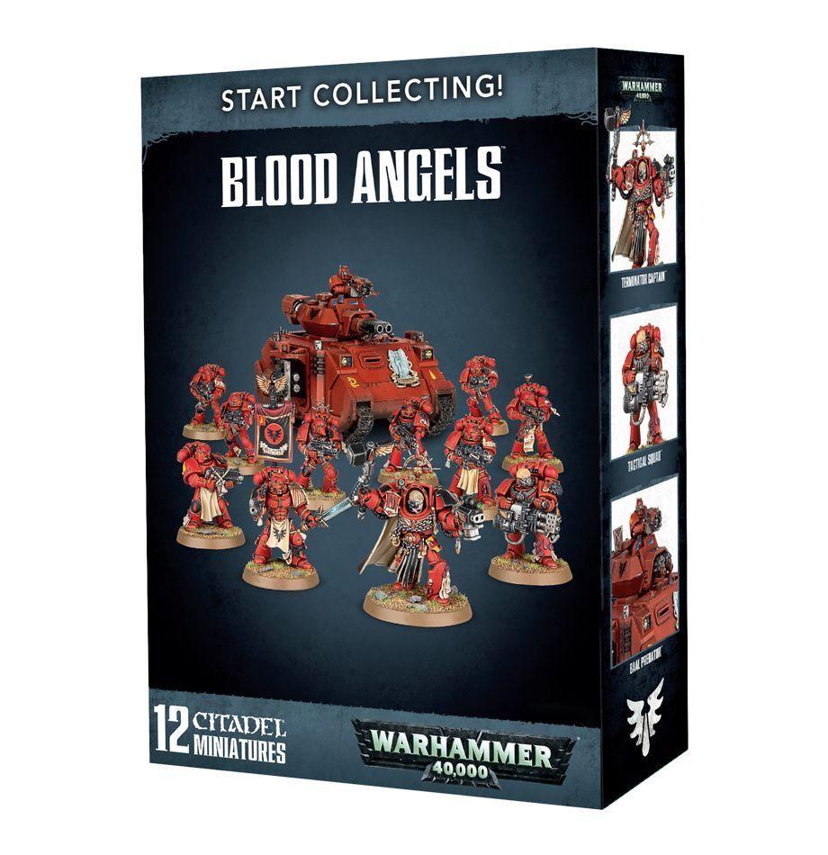 Warhammer 40K  Start Collecting  Blood Angels 70-41