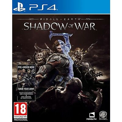 Middle-earth: Shadow of War ***PRE-ORDER ITEM*** Release Date: 10/10/17