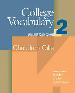 College-Vocabulary-2-English-for-Academic-Success-by-Gille-Chaudron-Paperback