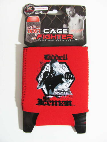 MMA Cage Fighter Iceman Liddell Cooler Insulator Koozie