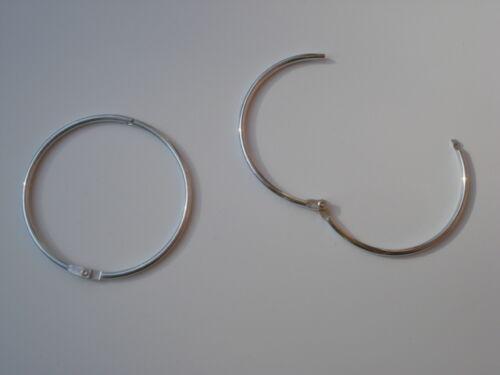 Lot de 100 anneaux brisé diametre 60mm
