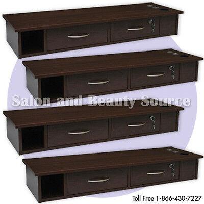 Wall Beauty Salon Styling Station Furniture Equipment